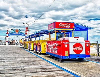 Photograph - Watch The Tram Car Please by Nick Zelinsky