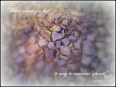 Photograph - Watch Your Step by Bobbee Rickard