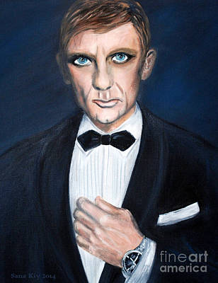 Painting - Watched By The World Eye by Oksana Semenchenko