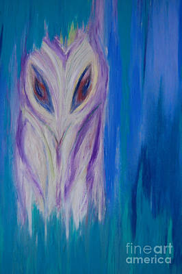 Watcher In The Blue Original by First Star Art