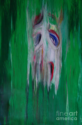 Watcher In The Green  Totem Series  Original by First Star Art