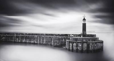 Somerset Wall Art - Photograph - Watchet Lighthouse by Catalin Alexandru