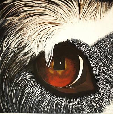 Watchful Art Print by Lisbet Damgaard