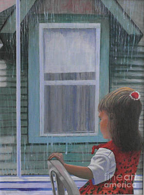 Painting - Watching  by Al Hunter