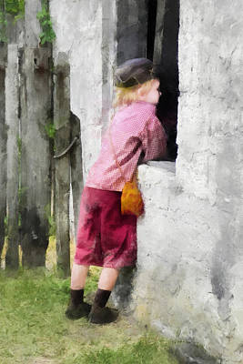 Digital Art - Watching From The Outside by Francesa Miller