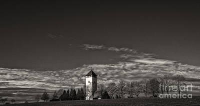 Photograph - Watching Over Buchheim by Bernd Laeschke