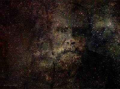 Digital Art - Watching Over The Universe by J Larry Walker