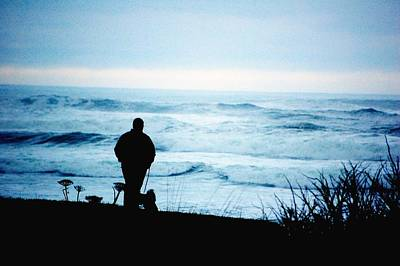 Canadian Photograph - Watching The Blue by Don Mann