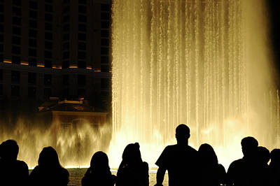 Photograph - Watching The Fountain by Gary Slawsky