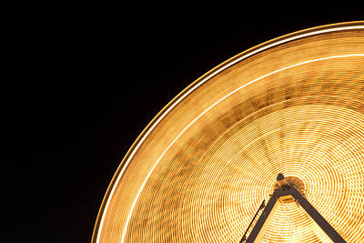 Photograph - Watching The Wheel Go Round by Heidi Smith