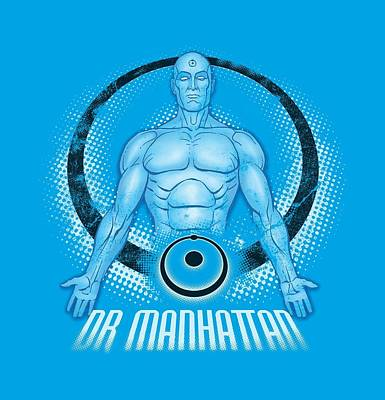 Rorschach Digital Art - Watchmen - Dr. Manhattan by Brand A