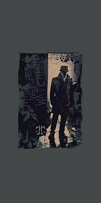 Rorschach Digital Art - Watchmen - Light by Brand A