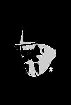 Rorschach Digital Art - Watchmen - Mask And Symbol by Brand A