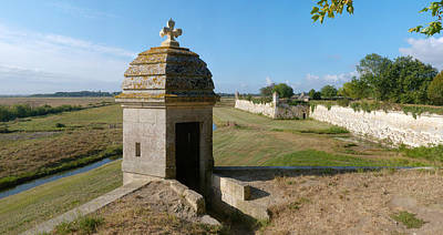 Watch Tower Photograph - Watchtower Of Fortifications Of Vauban by Panoramic Images