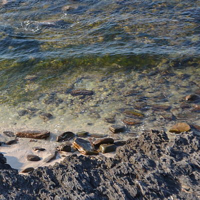 Photograph - Cowaramup Bay Water  1.1 by Cheryl Miller