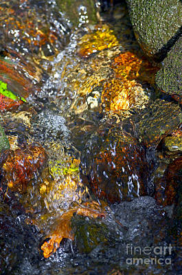 Photograph - Water Abstract 2 by Sharon Talson