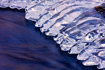 Photograph - Water And Ice 2 by Jeff Sinon