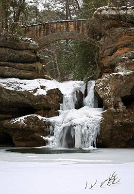 Photograph - Water And Ice Flow by Dale Kincaid