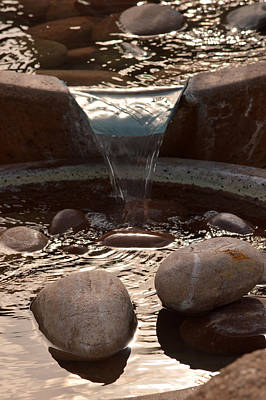 Photograph - Water And Rocks by Michael McGowan