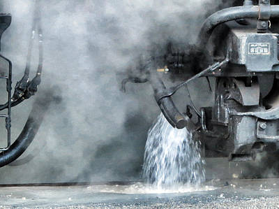 Photograph - Water And Steam - Heavy Metal by Patricia Januszkiewicz