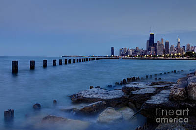 Chicago Skyline Photograph - Water At Fullerton by Margie Hurwich