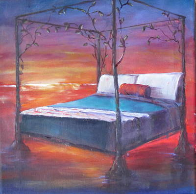 Painting - Water Bed by Sarah Barnaby
