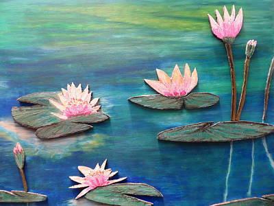 Pastel - Water Blossom by Daniel Dubinsky