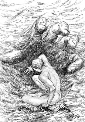Drawing - Water by Boyan Donev
