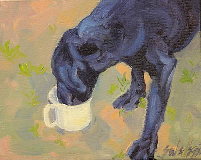 Painting - Water Break by Sheila Wedegis