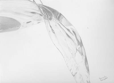 Water Art Print by Brenda Bonfield
