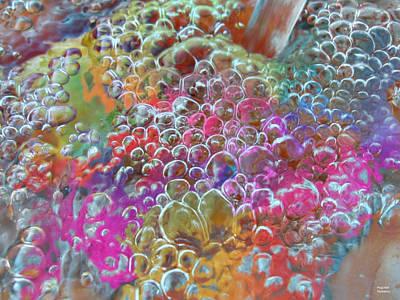 Digital Art - Water Bubbles by Augusta Stylianou