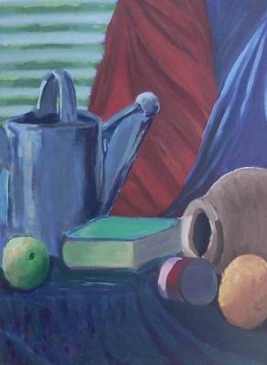 Painting - Water Bucket And Things by Darlene Berger