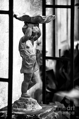 Courtyard Gallery Photograph - Water Carrier In The Garden by John Rizzuto
