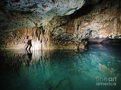 Water Cave Art Print