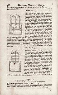 Naturalis Photograph - Water Clocks by Library Of Congress