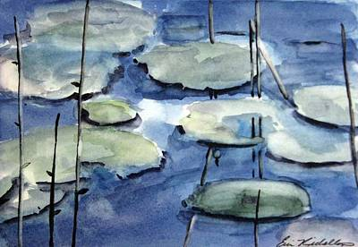 Painting - Water Color by Erin Rickelton