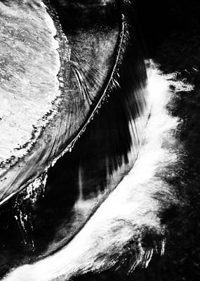 Photograph - Water Curve by Silken Photography