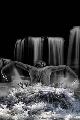 Water Dance Art Print by Angel Jesus De la Fuente