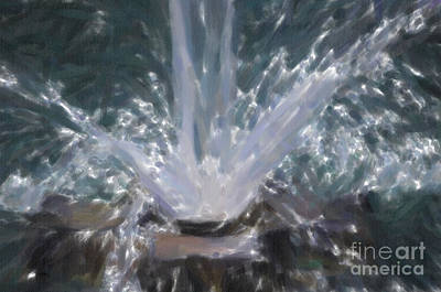 Photograph - Water Dance by Dale Powell