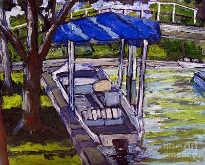 Sunday Picnic Painting - Water Draws The Money by Charlie Spear