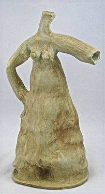 Sculpture - Water Dress by Mario MJ Perron