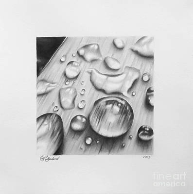 Water Droplet Temporality  Art Print