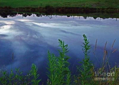 Photograph - Water Earth And Sky by Christian Mattison