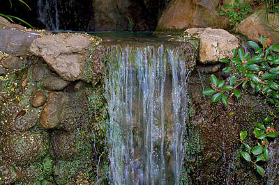 Photograph - Water Fall 2 by Richard J Cassato