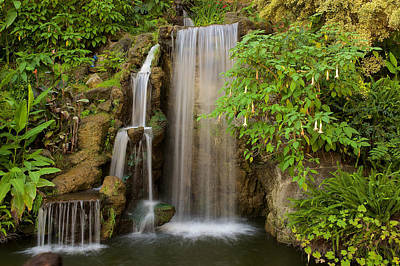 Photograph - Water Fall 5 by Richard J Cassato
