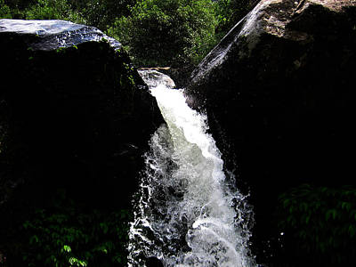 Photograph - Water Fall by Vijinder Singh
