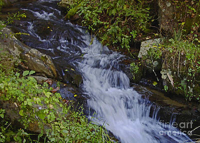 Photograph - Water Falling by Sandra Clark