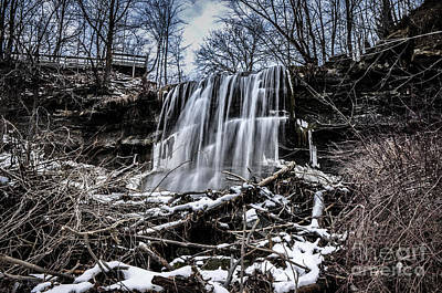 Photograph - Water Falls Canada by Ronald Grogan