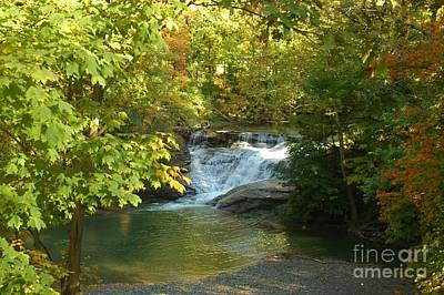 Water Falls Art Print by Kathleen Struckle