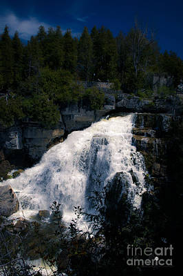 Photograph - Water Falls by Ronald Grogan